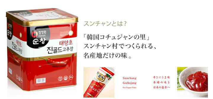 調味料 > 韓国味噌類 > コチュジャン