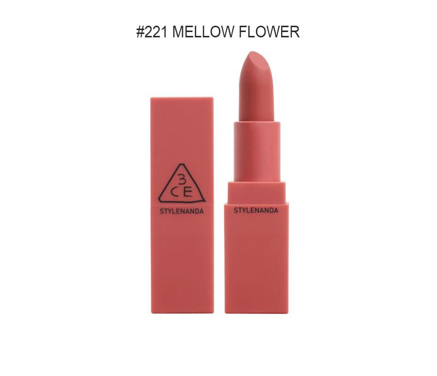 [3CE]ムードレシピマットリップカラー #221 MELLOW FLOWER