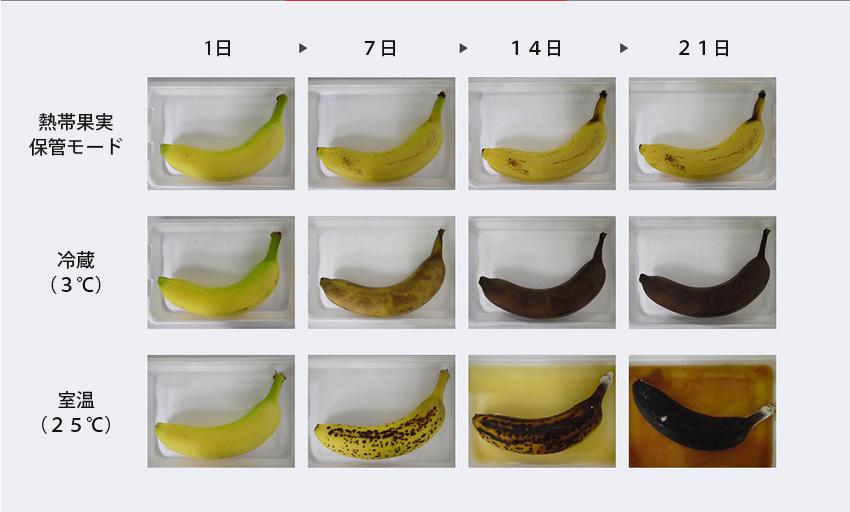 熱帯果実保管モード