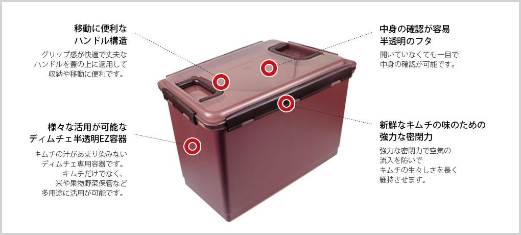 Ez容器の特徴