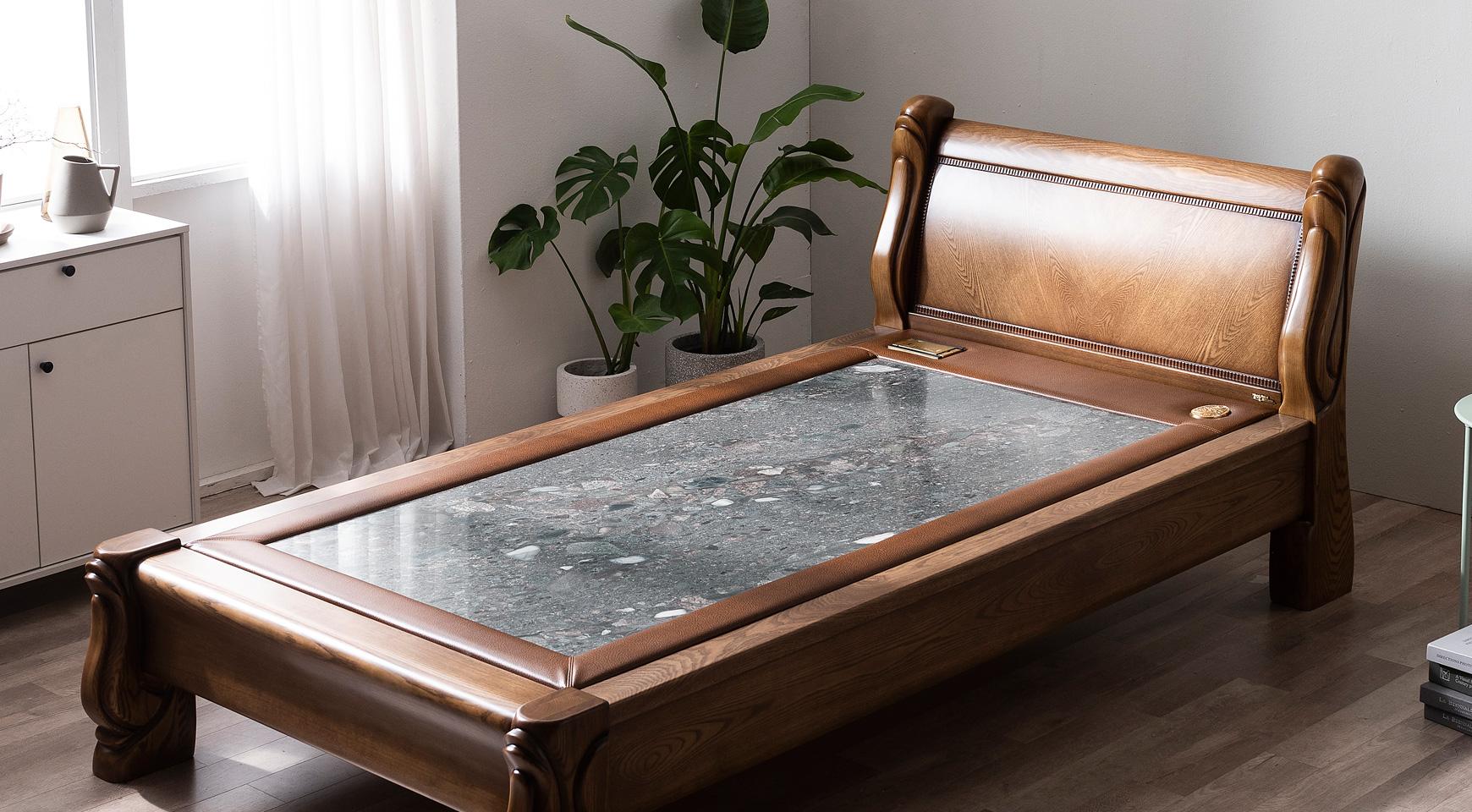 岩盤浴ベッド&遠赤外線天然石ベッド